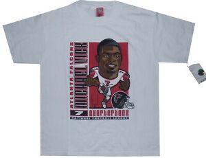 Michael Vick Atlanta Falcons Boys 8-20 Youth Boys Shirt Large Majestic Tags RARE