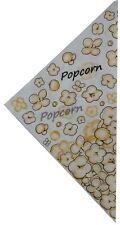 1000 Popcorn Spitztüten,Popcorntüten,Popconbeutel,Dreiecks-Spitztüte,Popcorntüte