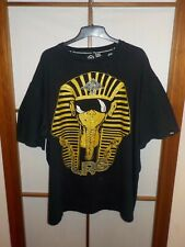 LRG VTG t-shirt Huff and burdel Egypt faraón pedrería Tutankhamon Pyramids Black 3xl