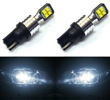 LED Light 40W 194 White 6000K Two Bulbs Rear Side Marker Parking Stock Lamp Fit