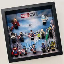 Display case Frame for Lego Marvel Studio Series 71031 figures minifigures 27cm