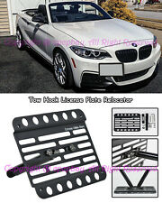 Fit 14-Up BMW F22 F23 M-Sport W/O PDC Tow Hook License Plate Relocator Bracket