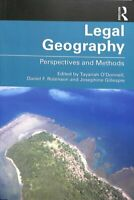 Legal Geography Perspectives and Methods by Tayanah O'Donnell 9781138387386