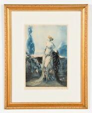 Louis Icart - Original 1928 Etching & Aquatint - Rare Artist's Edition - Signed