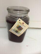 Home Interiors Large 22 Ounce Candle In Jar Very Berry Homco Vintage