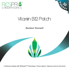 Respro Labs High Potency Vitamin B12 Energy Patch - 30 Patches