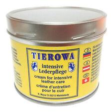 500ml(48,60€/1l) TIEROWA Intensive Lederpflege FARBLOS Lederfett Imprägnierung