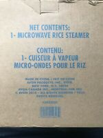 Avon Microwave Rice Steamer - New in Box - Fast Shipping!