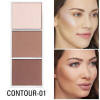 4 color Highlighter Palette Makeup Face Contour Powder Bronzer Make Up Blusher