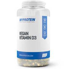 60X Myprotein Vegan Vitamin D3 Soft Gel Capsules - Contains 1000IU D - My