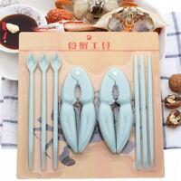 8Pcs/set Nut Walnut Crackers Nutcracker Lobster Crab Claw Seafood Shell Opener