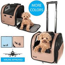 Pet Life Wheeled Travel Pet Dog or Cat Carrier