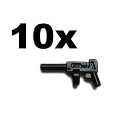 NEW LEGO - Weapon - gun - Tommy Gun black x 10 - Super Heroes Indiana Thompson