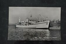 More details for postcard ship scillonian r.m.v. royal mail vessel at penzance real photo rp