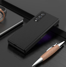 For Samsung Galaxy Z Fold 3 5G Luxury Hybrid Leather Front+Back 2in1 Case Cover