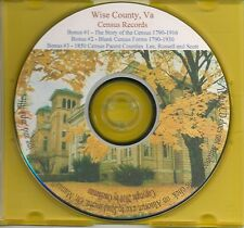 Wise County VA Census Records - 1850-1930