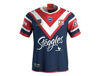 Sydney rooster 2019 NRL back to back premiers jersey size Small