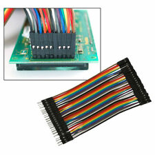 Fit For Arduino 40pcs 2.54mm Male to Male Breadboard Jumper Wire Cable Connector
