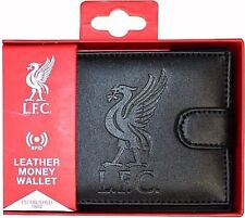 Liverpool Football Club Crest PU Leather Wallet With RFID Fraud Protection