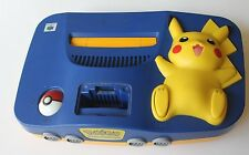 Pokemon Pikachu Nintendo 64 System Official Kid 90s Super Retro +Console Only+