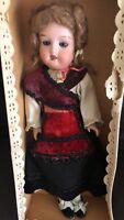 Antique Porcelain Doll GERMANY 1909 THEODORE RECKNAGEL