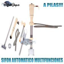 SIFONES AUTOMATICOS PARA ACUARIOS SIFON DE ACUARIO AUTOMATICO MULTIFUNCION PILAS