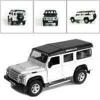"5"" Land Rover 1:36 Defender Alloy Diecast Model Cars Pull Back Toy Gift 1 Pcs AU"