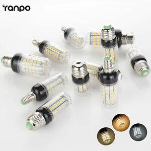 LED Corn Bulb E27 E14 E12 E26 B22 24-108LEDs Light Lamps 110V 220V DC 12V 24V GC