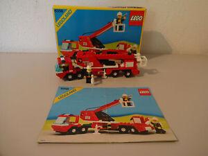 ( F15 ) Lego 6358 Drehleiterwagen Feuerwehr Mit OVP & BA 100% Komplett Gebraucht