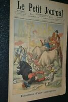 Le petit journal Supplément illustré N°629 / 7-12-1902 / Institutrice Héroïque