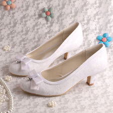 Court Low Heel (0.5-1.5 in.) Bridal Shoes