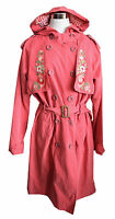 Blutsgeschwister Mantel Magic Decade Trench M L XL pink Trenchcoat Parka W193