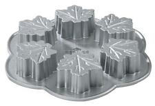 Maple Leaf Autumn Leaves Muffin Pan, Platinum Collection Nordic Ware #56548 NEW
