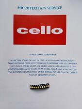 Cello C32227F-LED LSC320AN04 10 piezas Kit de reparación de Led Osram
