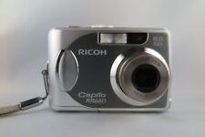 Ricoh Caplio 660 6,0 MP Digitalkamera - Silber -Vom Händler-