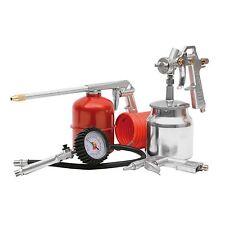 Quality 5 Piece Air Compressor Kit Spray Gun Air Line Accessories Tools Air Hose