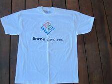 New listing Vintage Authentic Enron Envolved Change The World T Shirt Large New