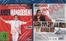 Blu-Ray ANGER MANAGEMENT TV SERIES SEASON 3 Charlie Sheen Shawnee Smith Region B