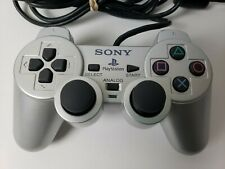 Sony DualShock 2 SCPH-10010 Silver Controller Playstation 2 PS2 OEM VGC