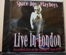 SPACE AGE PLAYBOYS - LIVE IN LONDON recorded live at the garage X mas 1998 SIGIL