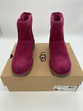 UGG Womens Size 6 Purple Kristin Classic Slim Water Resistant Genuine Shearling