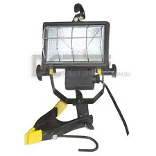 12 Volt Halogen Worklight / Flood Light with Clamp and Hooks