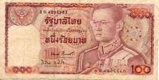THAILANDE THAILAND 100 bath état voir scan