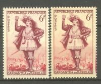 "FRANCE STAMP TIMBRE N° 943 "" THEATRE GARGANTUA, 2 COULEURS "" NEUFS xx TTB"