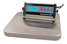 Balance pèse colis industrielle inox 150kg x 100g ProFreight 332 de PROSCALE
