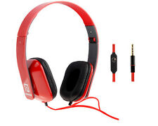 Langston - High Definition Powered Headphones - Foldable - Red