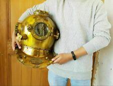Morse Brass Antique US Navy Vintage Dive Helmet Mark V Diving Divers Helmet Gift