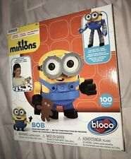 Bloco Minions Bob Figure Foam Building Kit 100 Pieces New