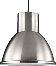Sea Gull Lighting 6517401-962 One Large Down Pendant - Brushed Nickel - NEW