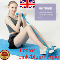 UK Multi-Function Tension Rope 2020 Fitness Pedal Exerciser Rope Pull Bands NEW
